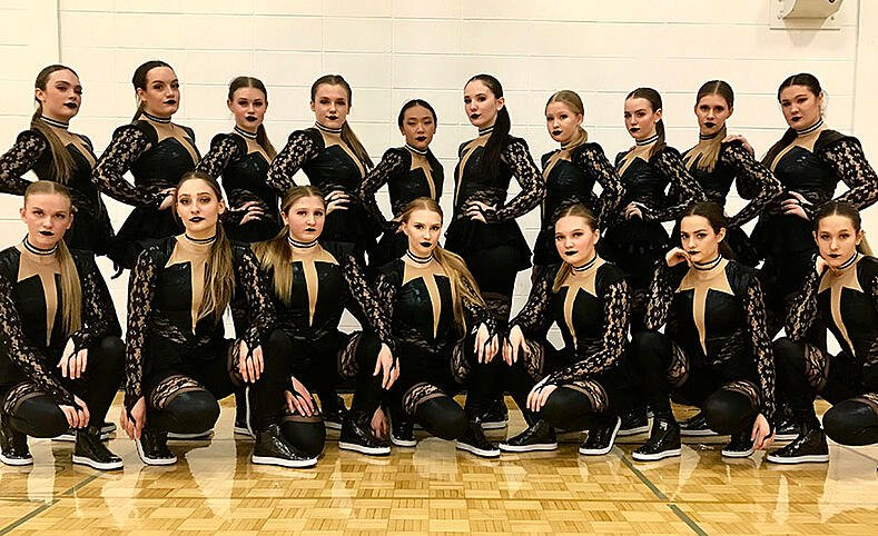 Sheboygan North dance team - hip hop dance costume