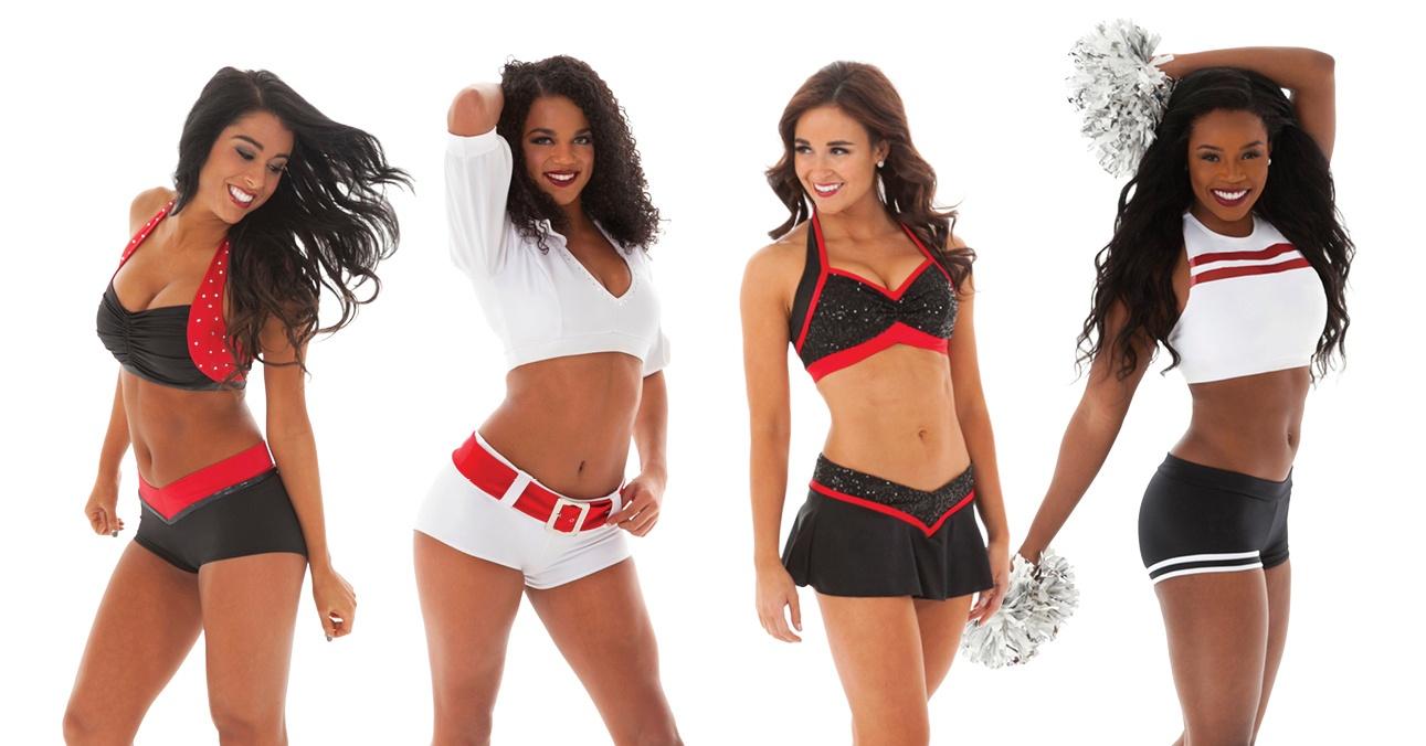 Custom Pro cheer audition apparel - team colors