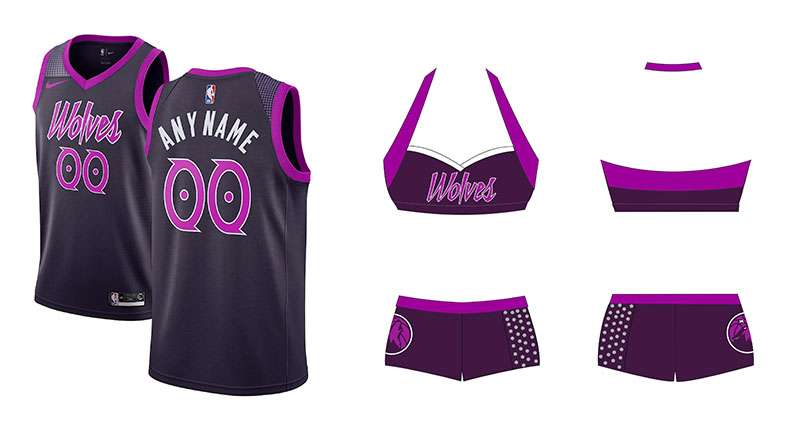 Timberwolves city edition jersey