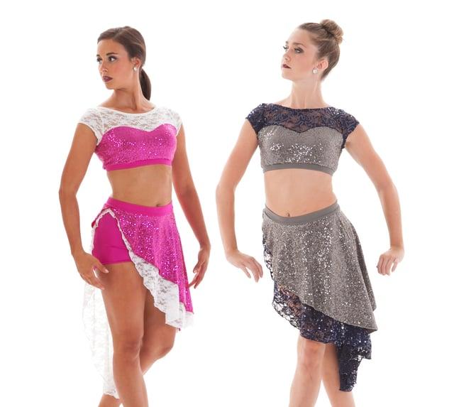 Vanna and Vanna Charlize dance costumes