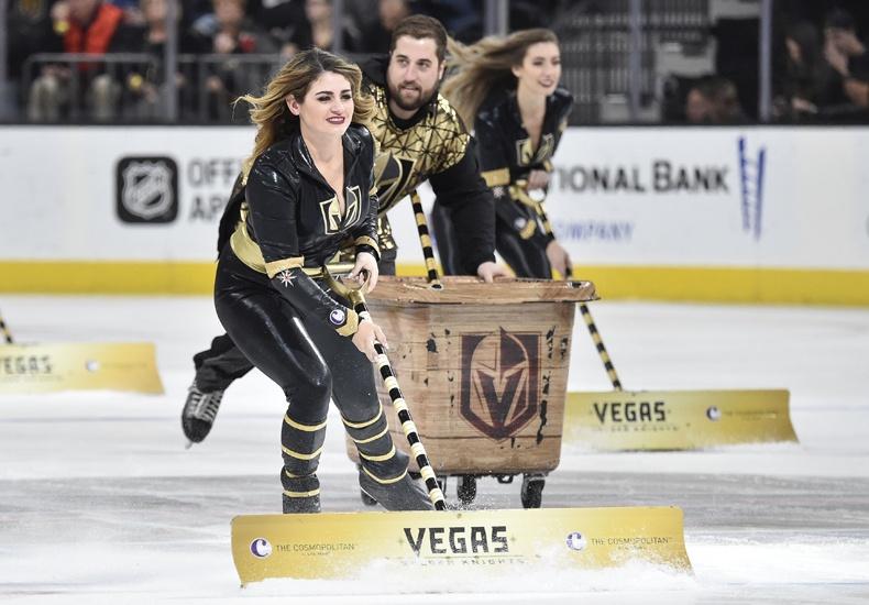 Vegas Golden Knights Ice Crew