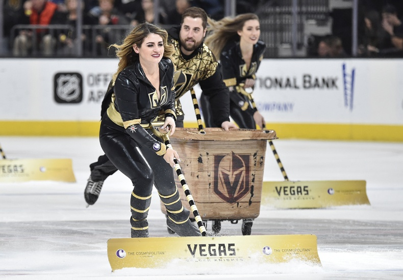 Vegas Golden Knights Ice Crew