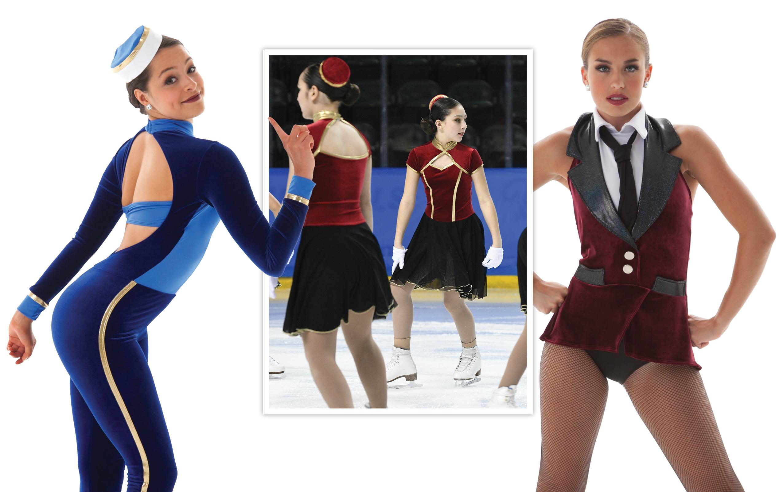 Velvet Dance And Skate Costumes Trend