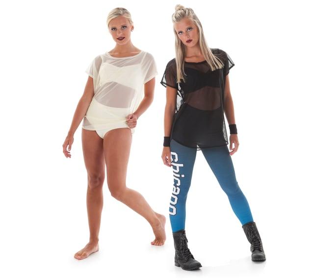 Vista Mesh Tee dance costume