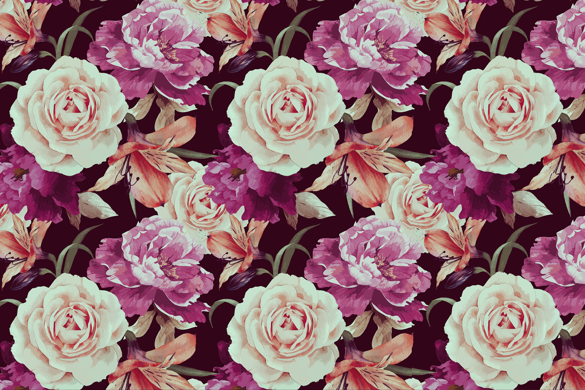 Floral Print Wallpapers for desktop and phone
