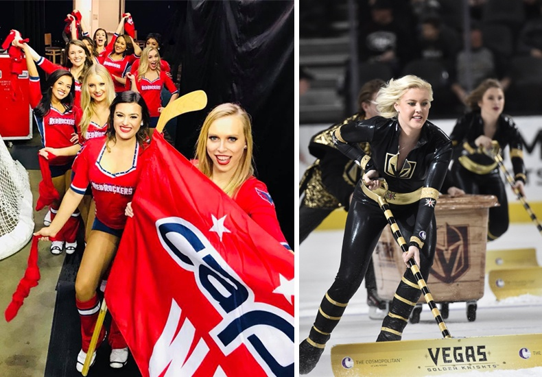 Stanley Cup Finalists Washington Capital Red Rockers & Vegas Golden Knights Crew