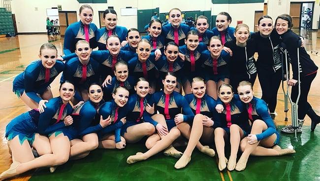Waupaca High School Dance Team .jpg