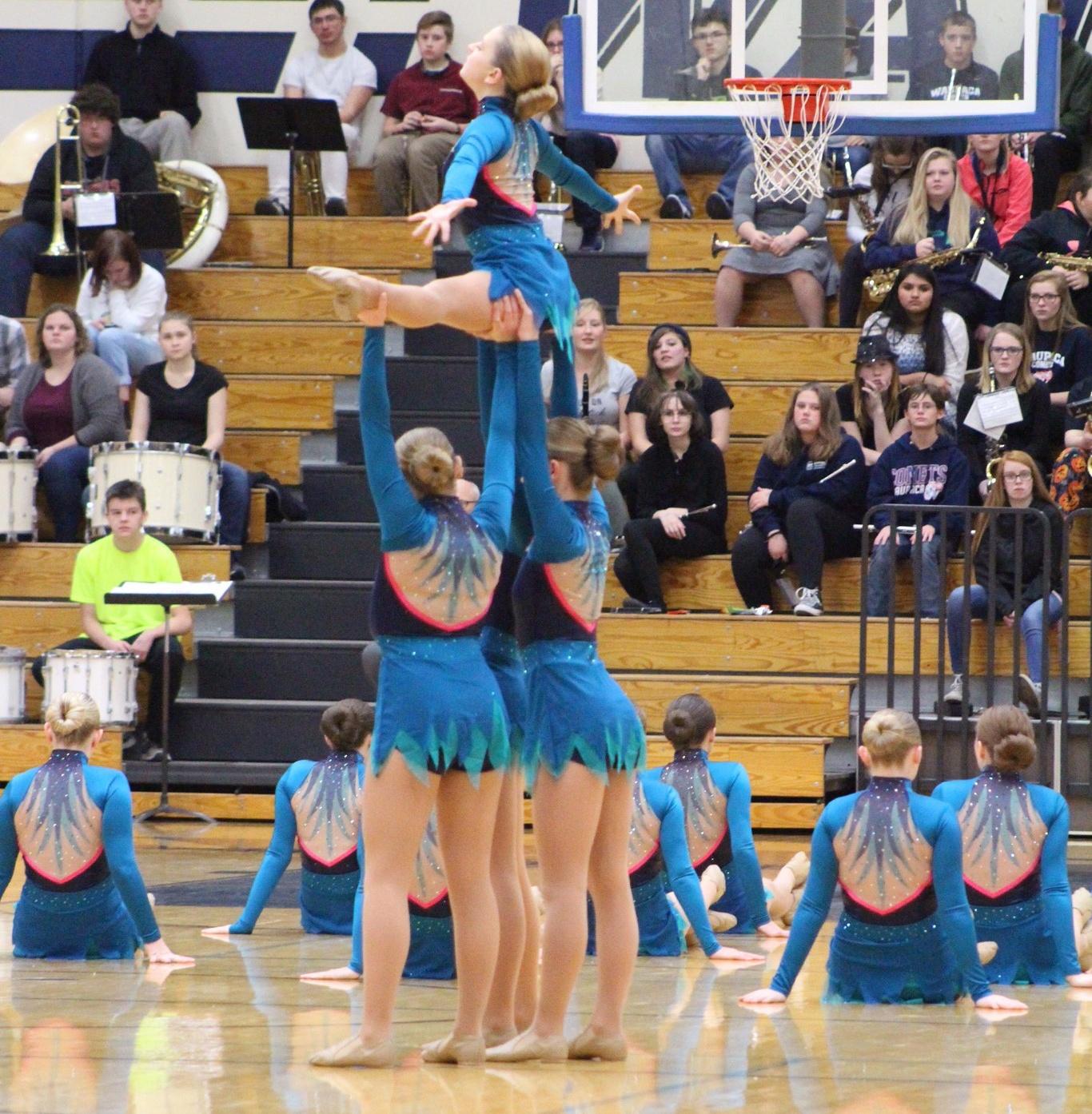 Waupaca High School Dance Teamin Jazz Dress
