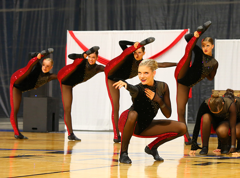 West Fargo High School High Kick costume