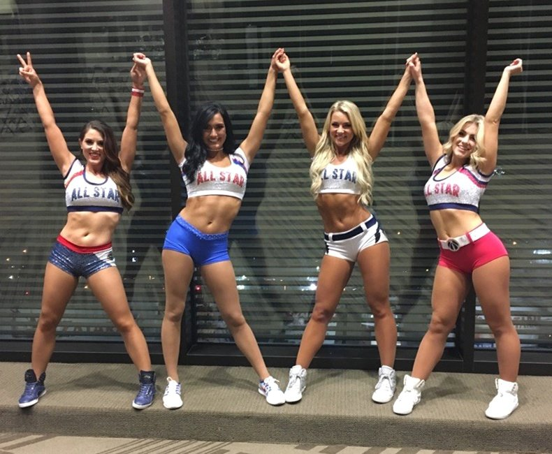NBA allstar dancers