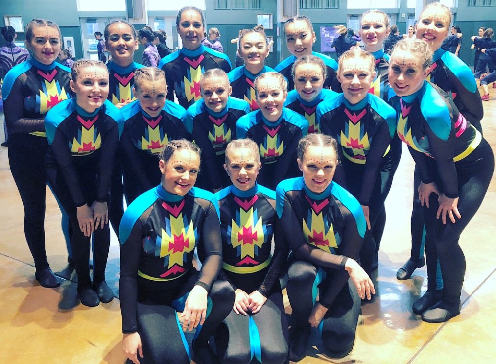 capital cougarettes custom military dance costume