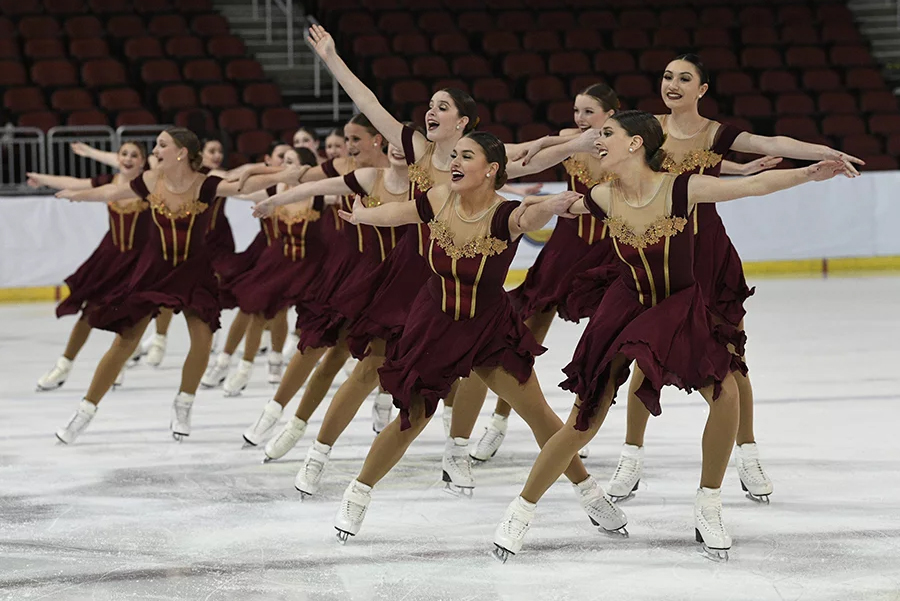 Midwestern and Pacific Coast Synchronized Skating Championships