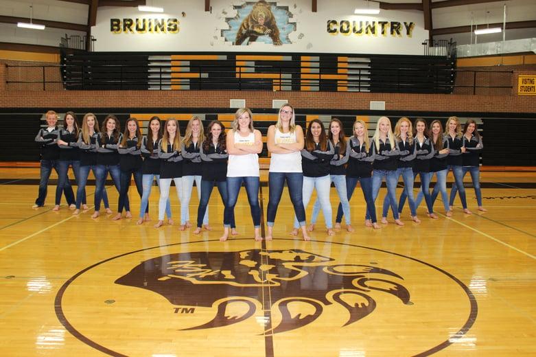 Fargo south bruinkix dance team
