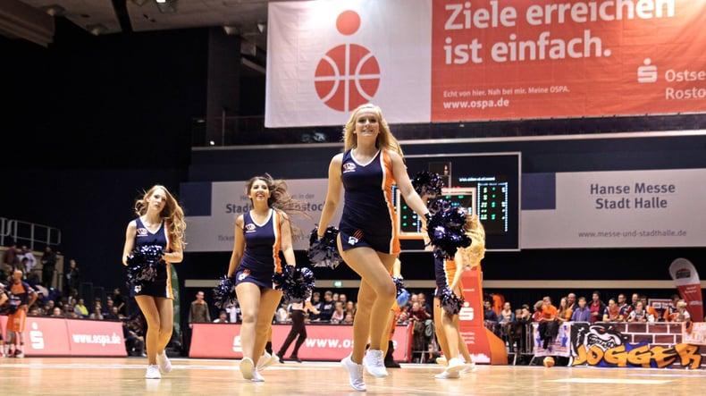 German basketball semi-professional dance team