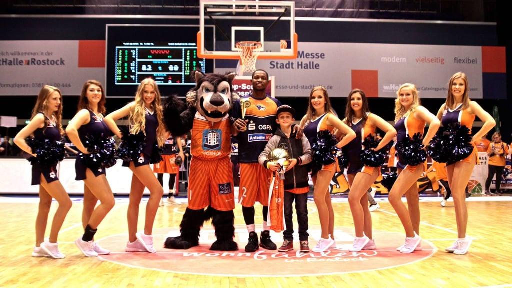 German Basketball Dance Team - Rostock Seawolves