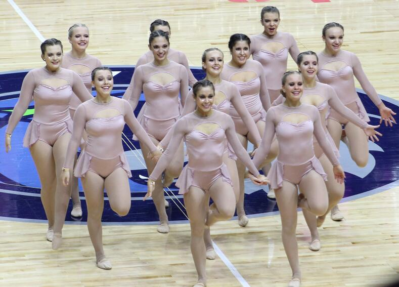 iowa city regina dance team