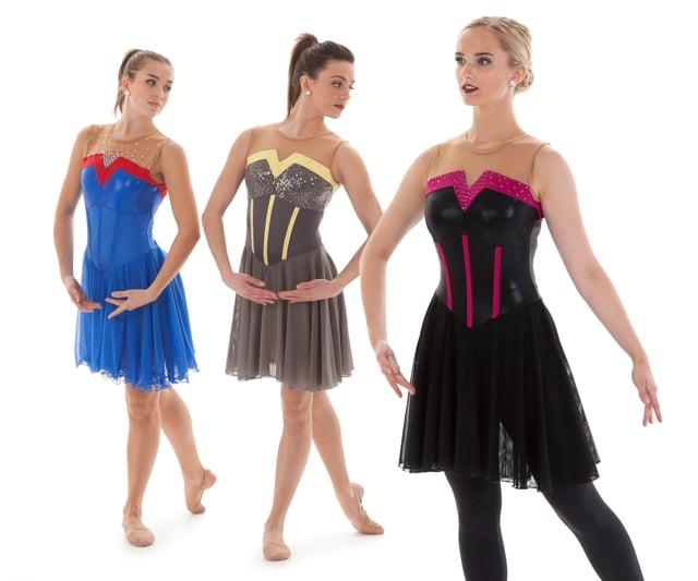Giana Synchronized Skate Competition Dress