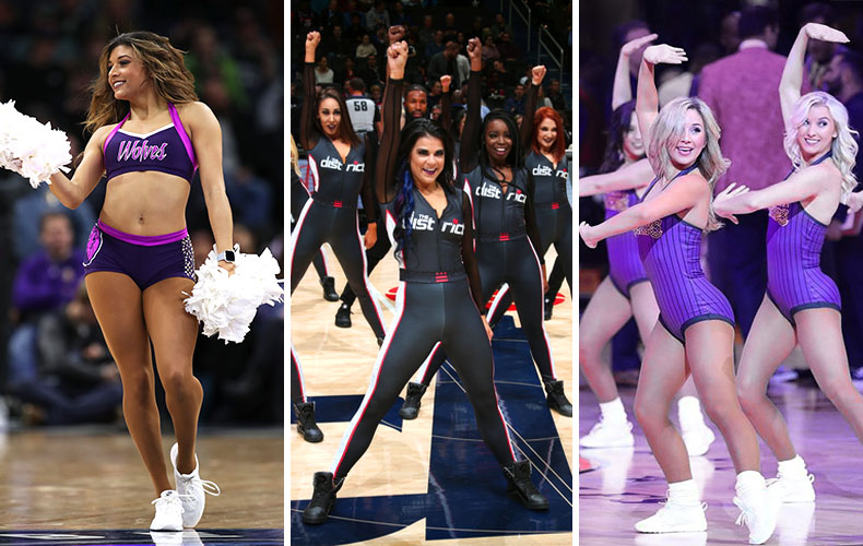 NBA Dancers' City Edition Jerseys