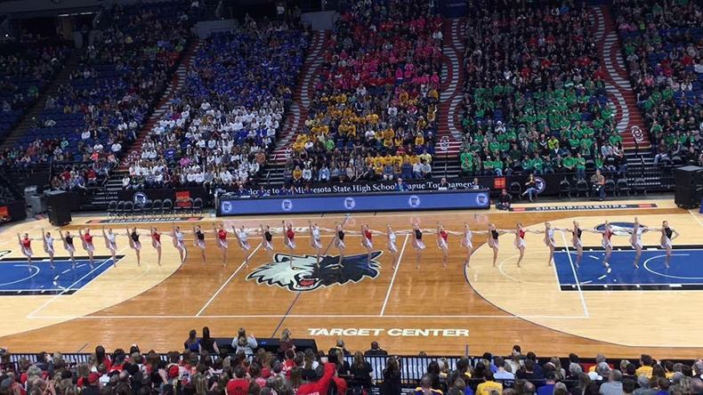 Lakeville North Dance Team High Kick Costume