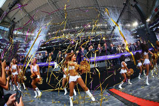Minnesota VIkings Cheerleders - ICE Signature Look