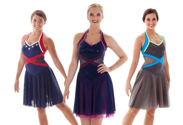 Leda Synchronized Skating Dress