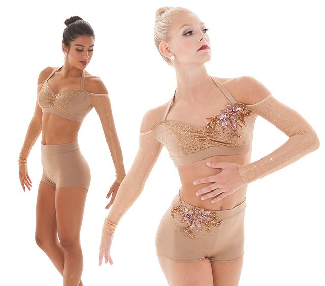 Appliques add the perfect finishing touch to upcycle your dance costume