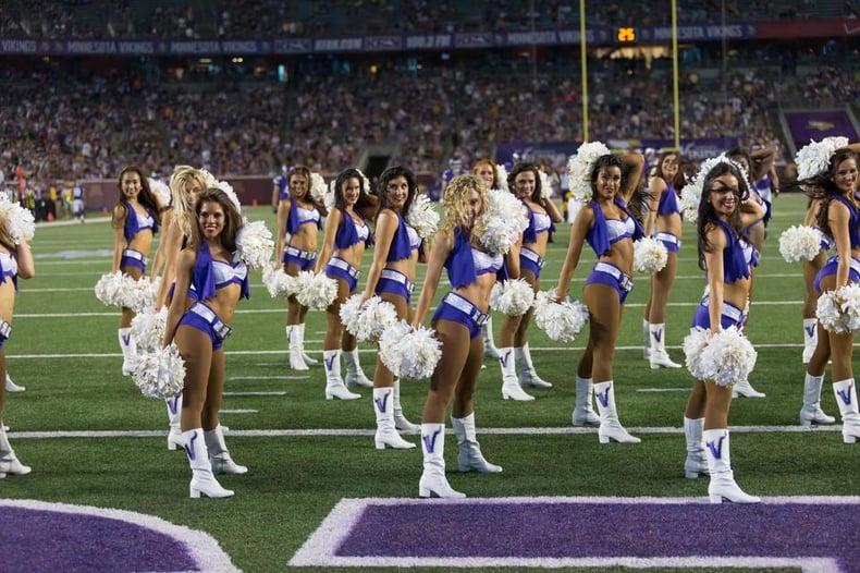 Team Spotlight  The Minnesota Vikings Cheerleaders  Multi-Uniform ... 554ff59a3