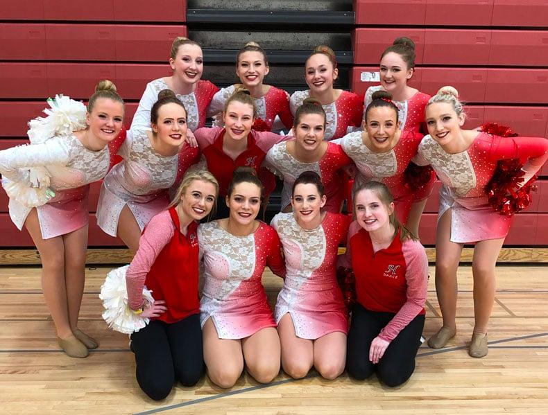 Hortonville Dance Team Pom Uniforms