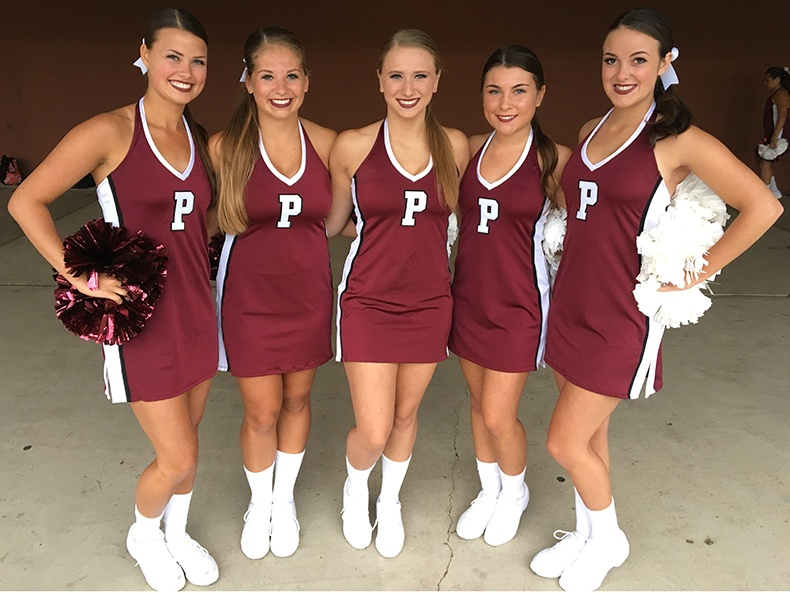 Prescott HS Dance Team in Carolina Dance Dress