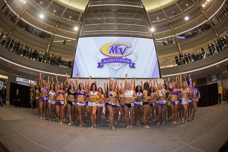 Minnesota Vikings Cheerleaders tryout apparel