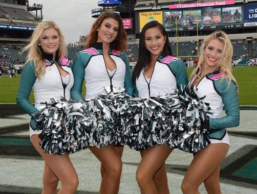 Philadelphia Eagles Cheerleaders BCA jackets