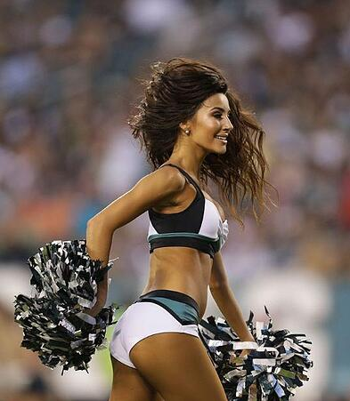 Philadelphia Eagles Cheerleaders uniforms