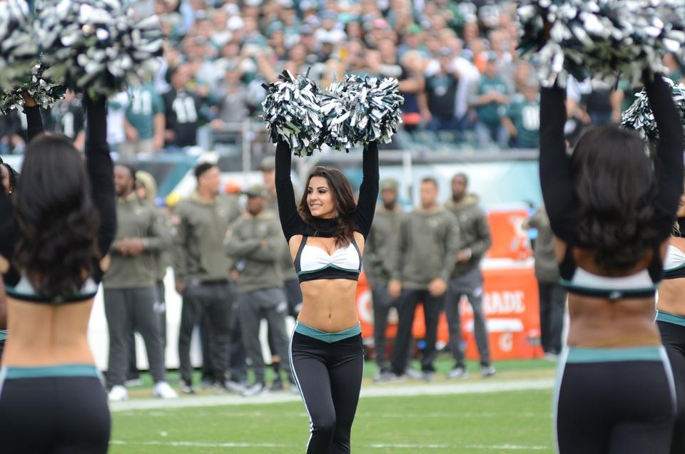 Philadelphia Eagles Cheerleaders Vanessa