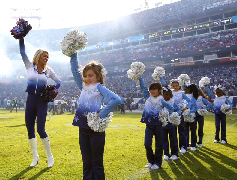 titans junor cheerleaders