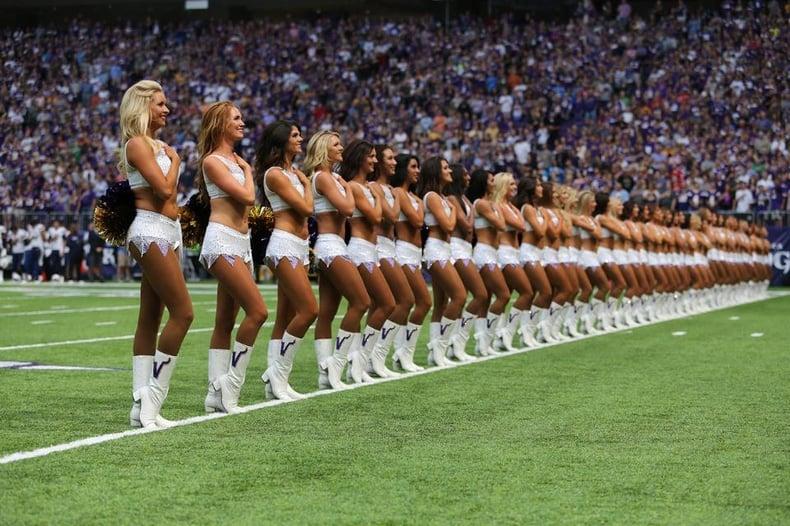 Minnesota Vikings Cheerleaders new uniform Ice