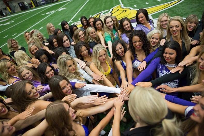 Minnesota Vikings pro cheer auditions