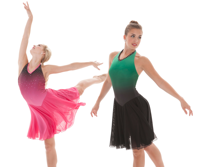 Twilight Ombre Skate Practice Dress