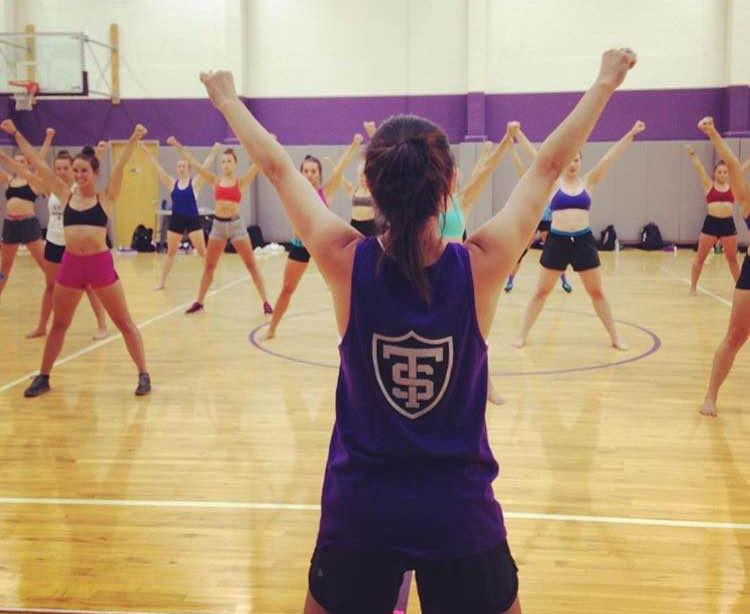 University of St. Thomas Dance Team Practice