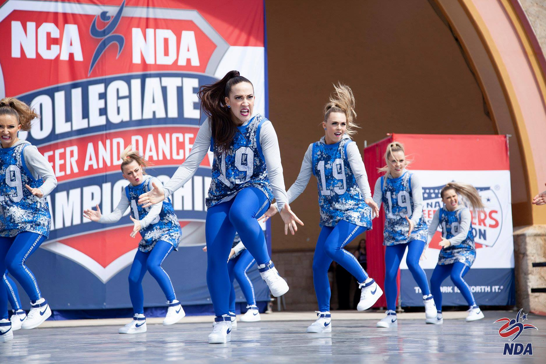 Brigham Young University Cougarettes Hip Hop NDA Nationals