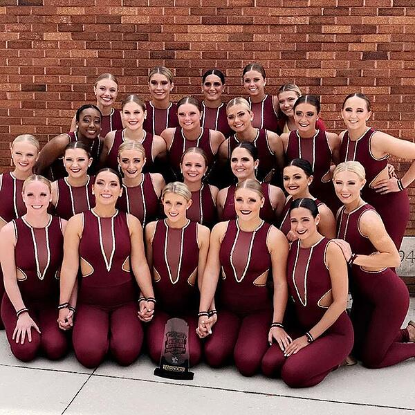 Iowa State University Dance Team NDA nationals