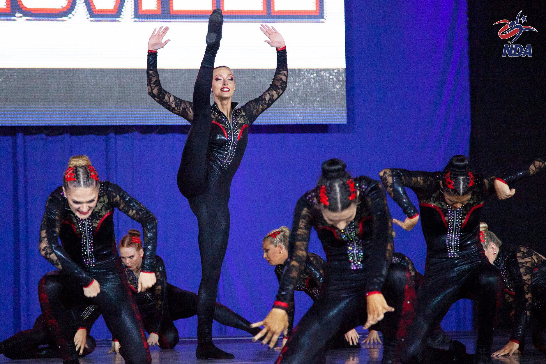 Louisville Ladybirds team dance costume at NDA Nationals