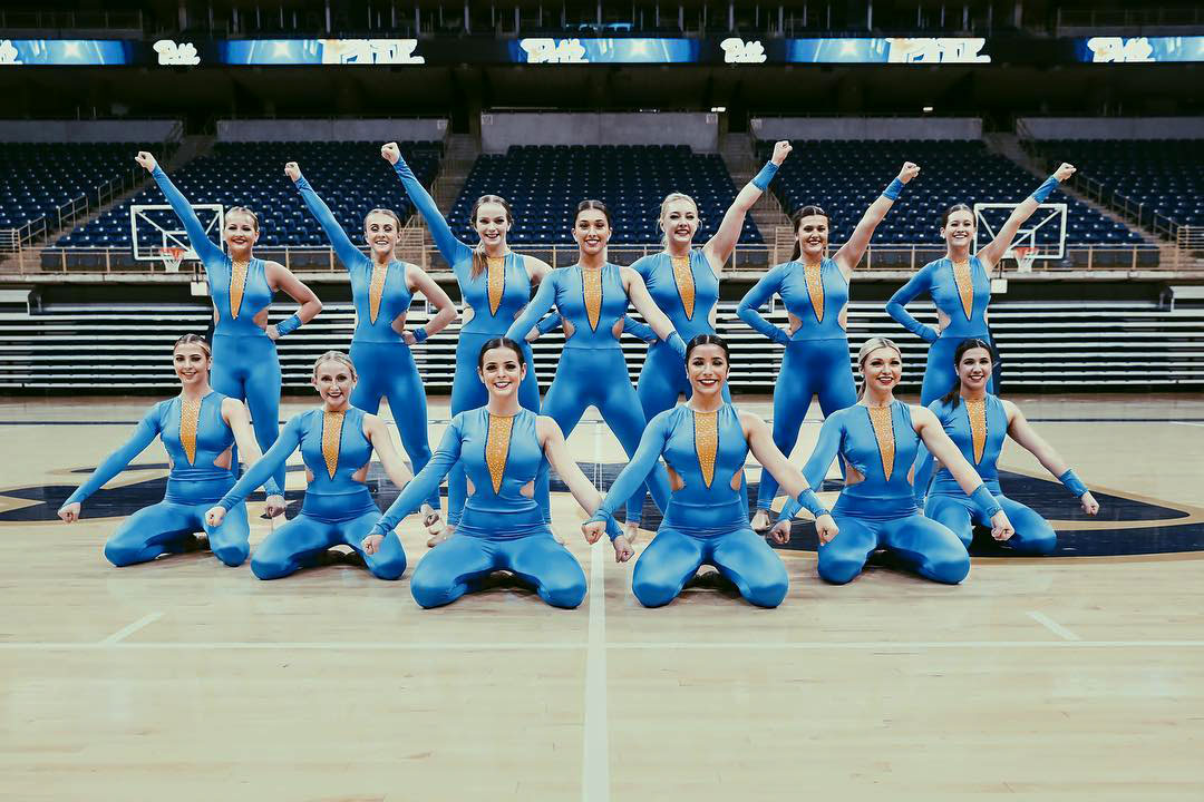 Pitt Dance Team Team performance nda nationals