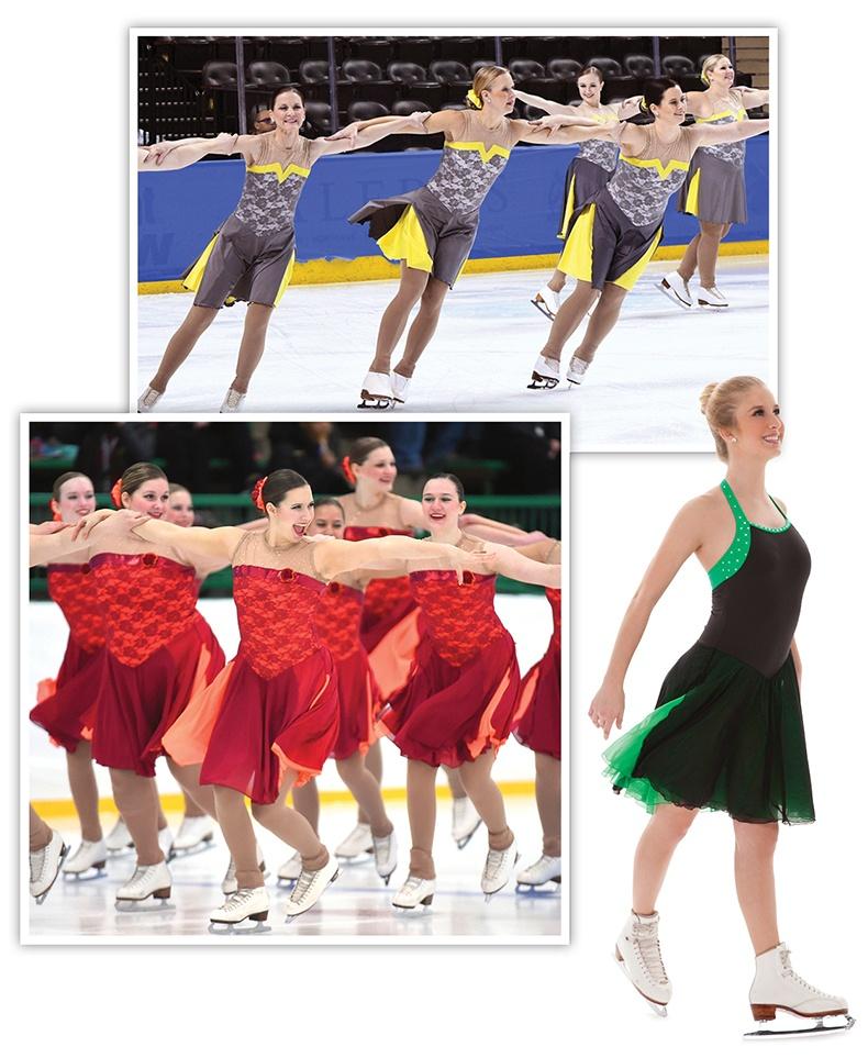 Side Slit Skirt Look Synchronized Skating Dress.jpg