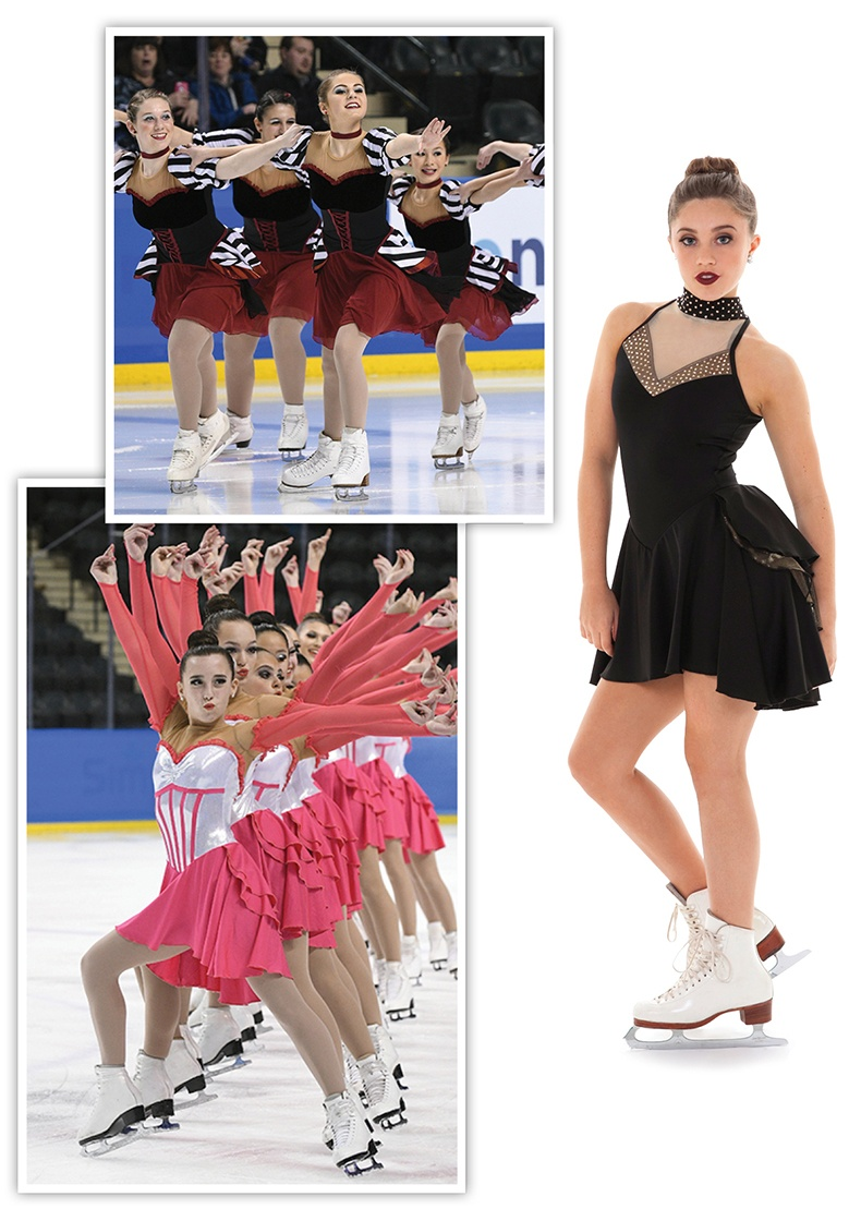 Buscle Skirts for Synchronized Skating Dresses.jpg