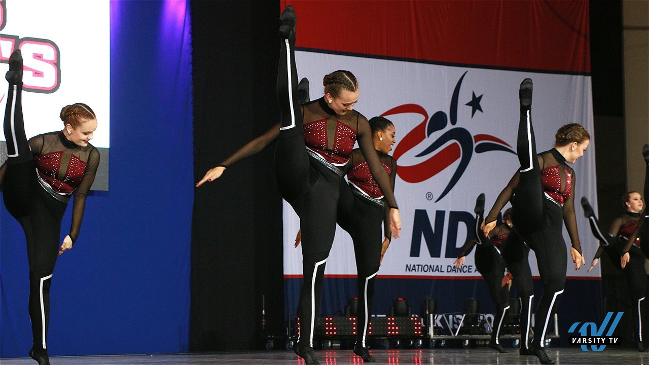 Texas Woman's University dance team costume nationals