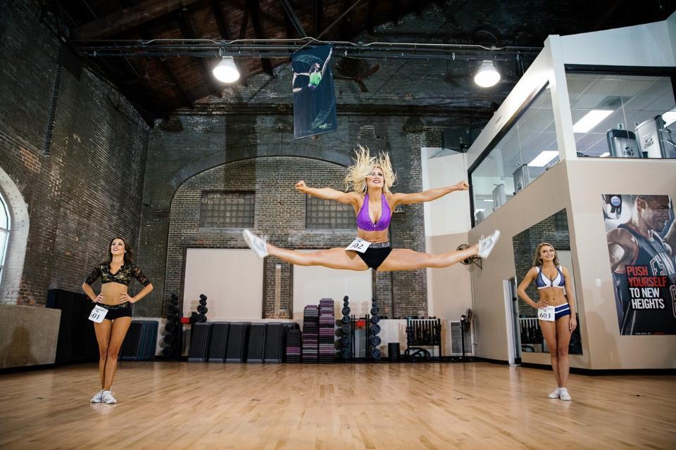 Custom Dance Costume Cheerleader Audition Wear